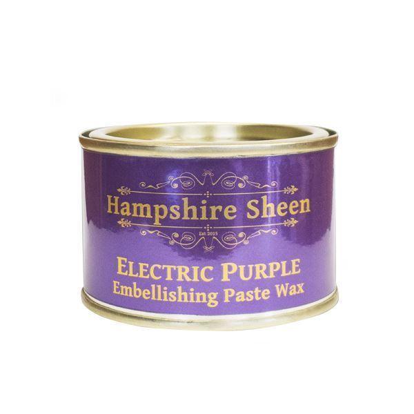 Hampshire Sheen Electric Purple Embellishing Wax