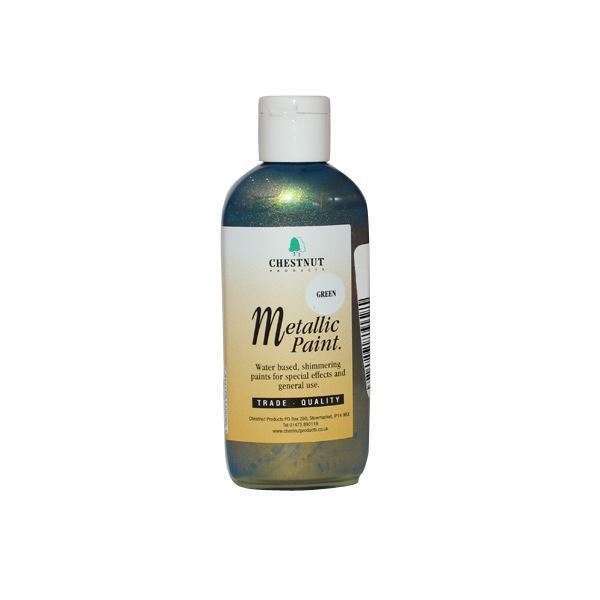 Chestnut Green Water-based Metallic Paint 100ml South Africa