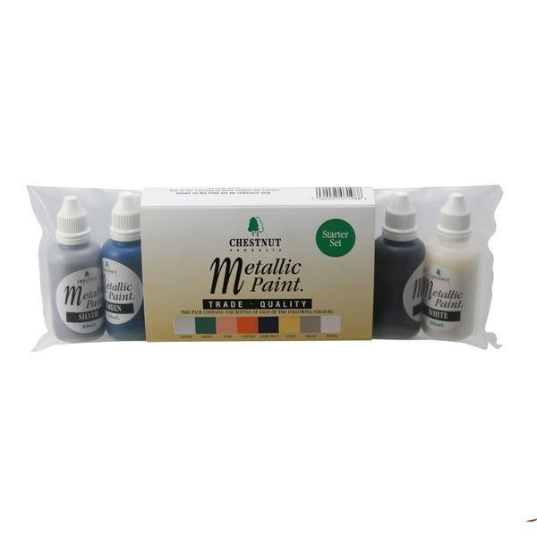 Chestnut Metallic Paint Starter Set - 8 Pack South Africa