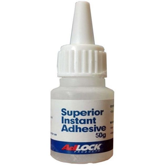 Picture of ADLOCK MQ 50G SUPERIOR INSTANT ADHESIVE
