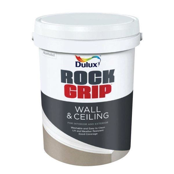 Picture of DULUX ROCKGRIP WALL & CEILING WHITE 5L