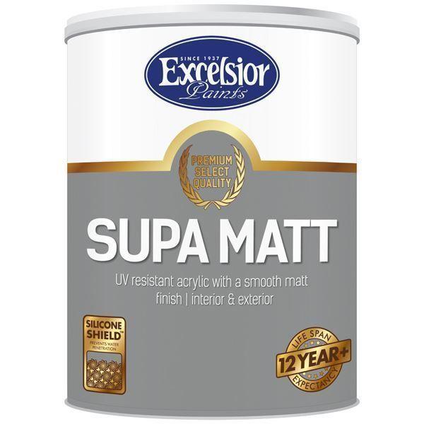 Picture of EXCEL PREMIUM SUPA MATT WHITE 5 LTR