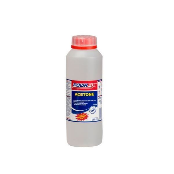 POWAFIX ACETONE 500ML SOUTH AFRICA