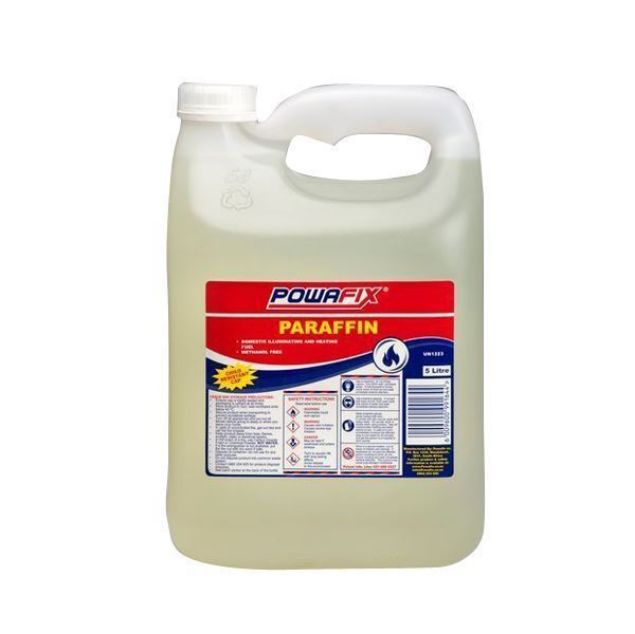 POWAFIX ILLUMINATING PARAFFIN 5LT SOUTH AFRICA