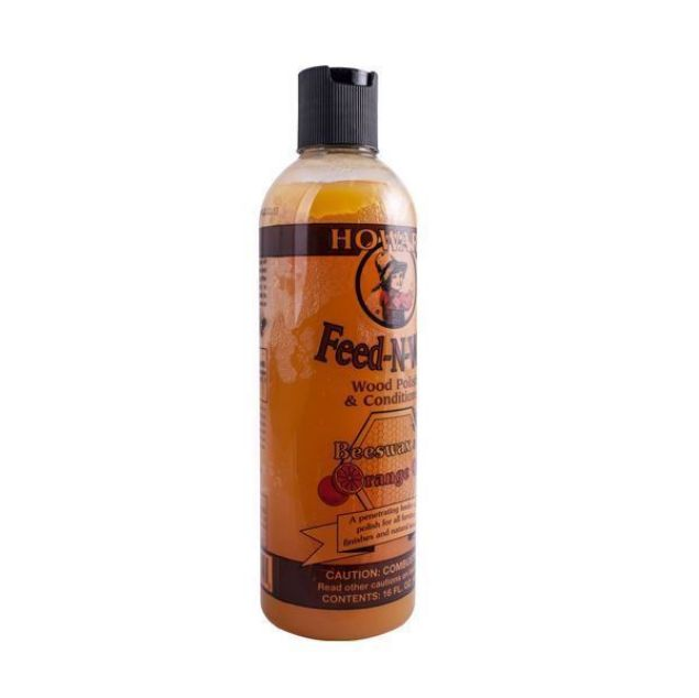 HOWARD FEED-N-WAX WOOD POLISH & CONDITIONER 16 FL OZ