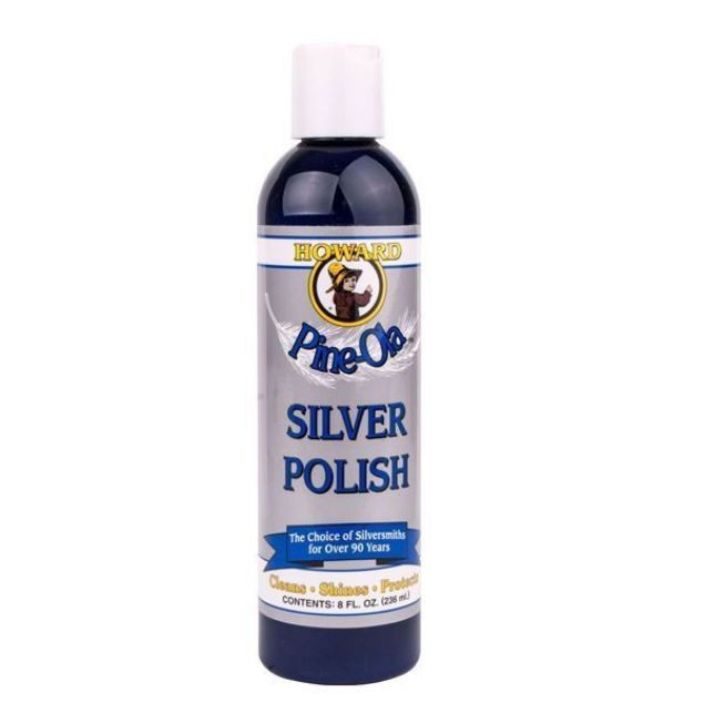 HOWARD SILVER POLISH 8OZ