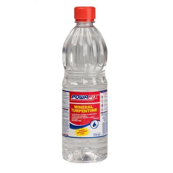 POWAFIX MINERAL TURPENTINE 750ML SOUTH AFRICA