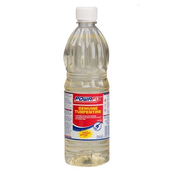 POWAFIX GENUINE TURPENTINE 750ML SOUTH AFRICA