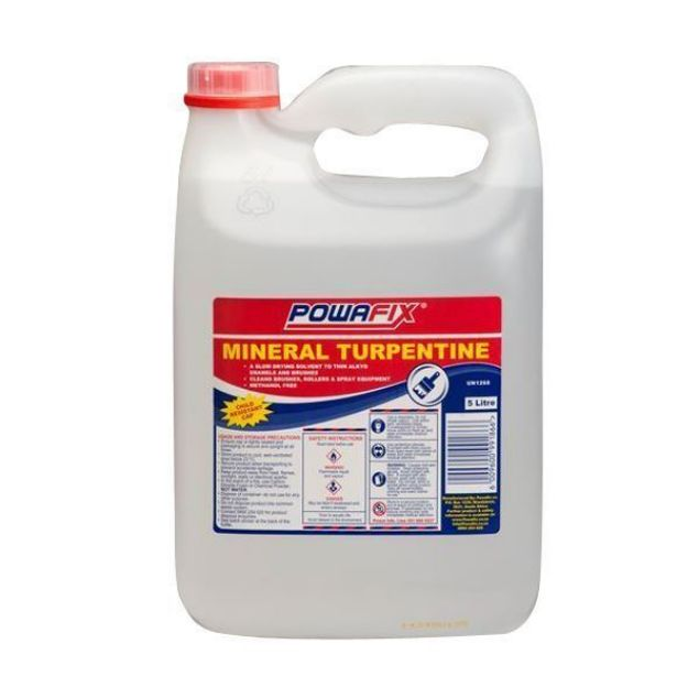 Picture of POWAFIX MINERAL TURPENTINE 5L