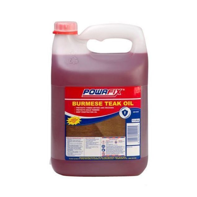 POWAFIX TEAK OIL 750ML SOUTH AFRICA