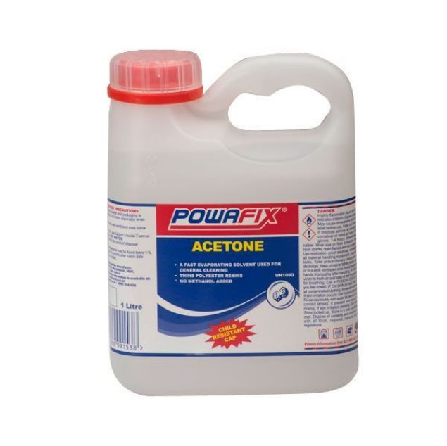POWAFIX ACETONE 1LT SOUTH AFRICA