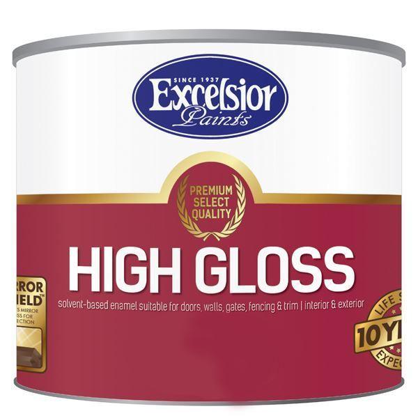 Picture of EXCELSIOR PREMIUM HIGH GLOSS ENAMEL WHITE 1 LTR