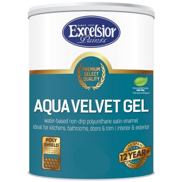 Picture of EXCELSIOR PREMIUM AQUA VELVET GEL BRIGHT WHITE 5 LTR