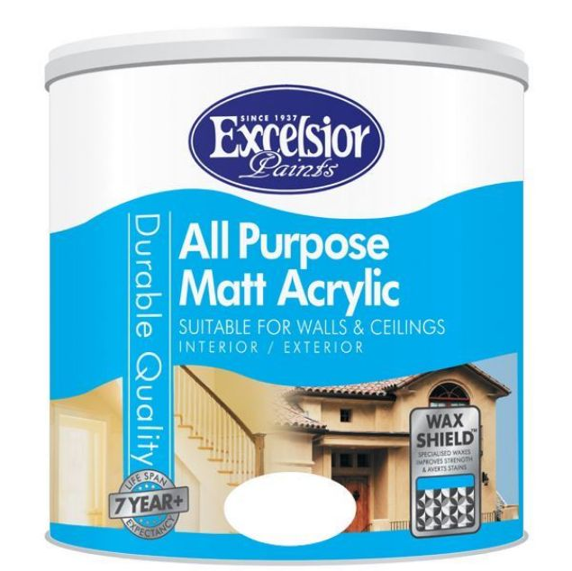 Picture of EXCELSIOR ALL PURP MATT ACRYLIC BLACK 1LTR