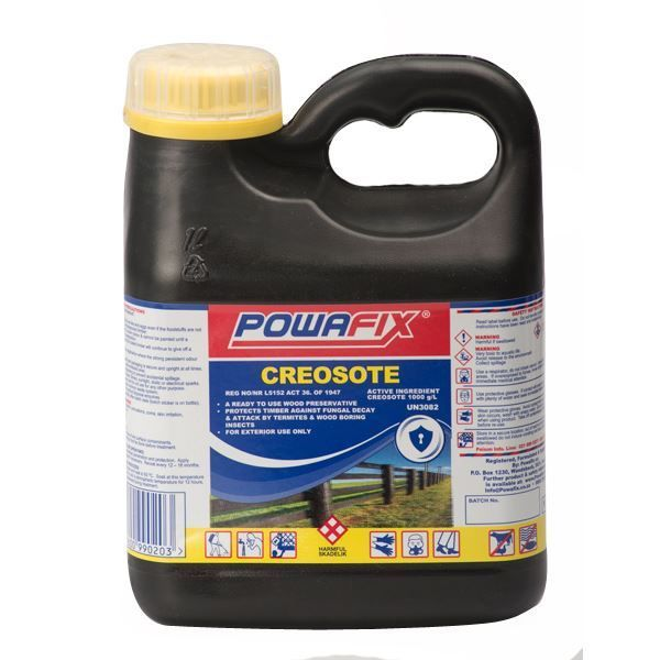 POWAFIX CREOSOTE 1LT SOUTH AFRICA