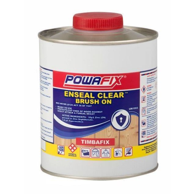 POWAFIX ENSEAL CLEAR 1LT SOUTH AFRICA