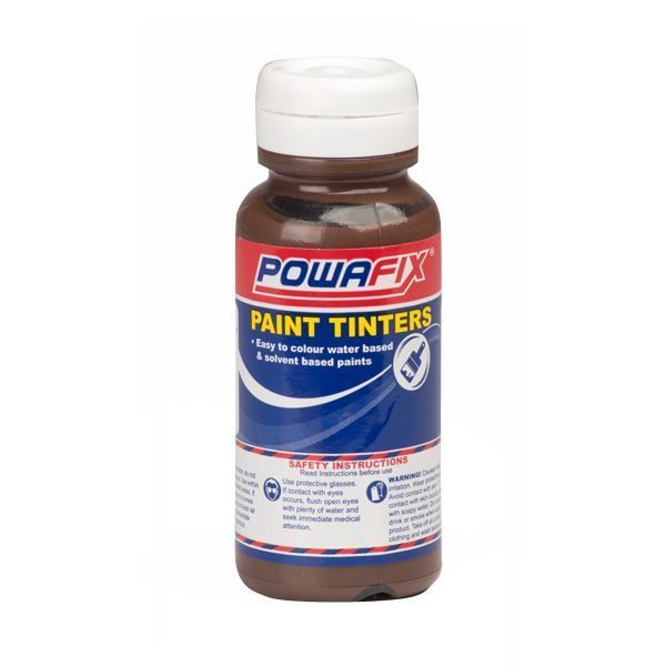 POWAFIX PAINT TINT BROWN OXIDE 50ML SOUTH AFRICA