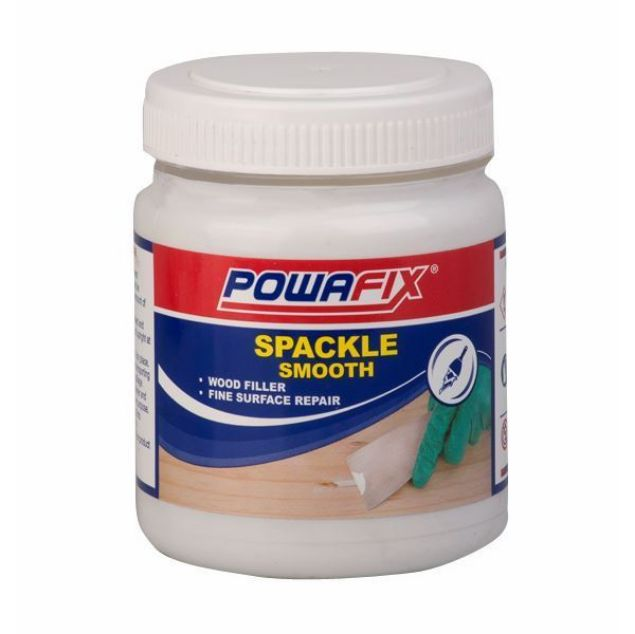POWAFIX SPACKLE SUPER FINE WHITE 250ML
