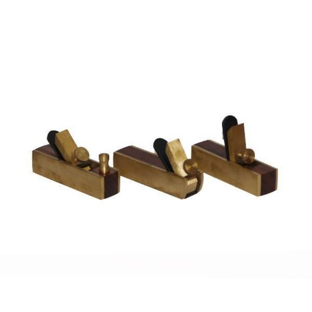 RYDER HOBBY BRASS PLANE SET OF 3-75MM SOUTH AFRICA