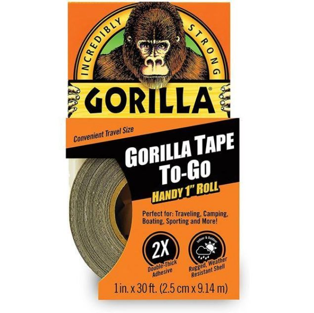 GORILLA TAPE HANDY ROLLS 25.4MM X 9M  SOUTH AFRICA