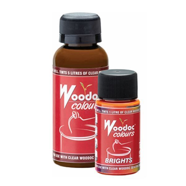 WOODOC CLARET COLOUR 25ML SOUTH AFRICA