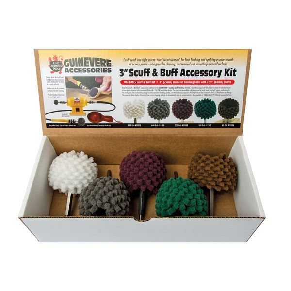 """Picture of KING ARTHUR TOOLS GUINEVERE 2"""" BALL ACCESSORY SET"""