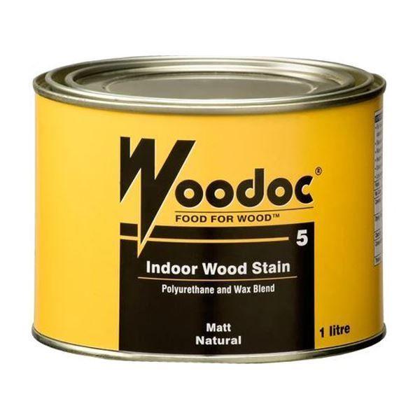 WOODOC 5 INDOOR MATT SEALER  1L SOUTH AFRICA