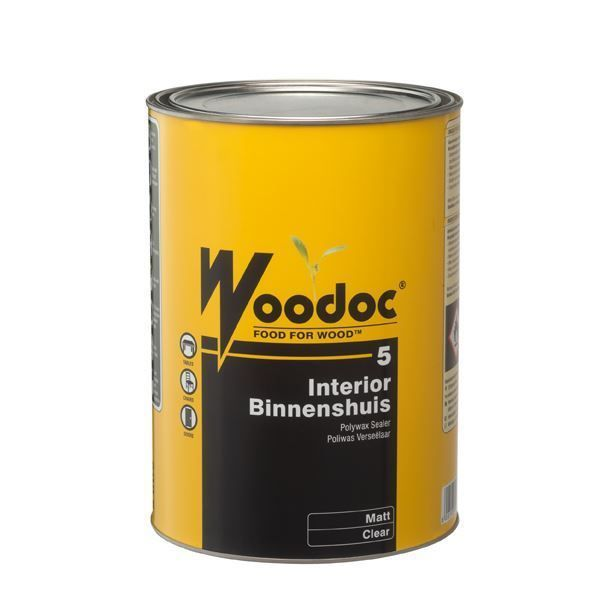 WOODOC 5 INDOOR MATT SEALER 5L SOUTH AFRICA