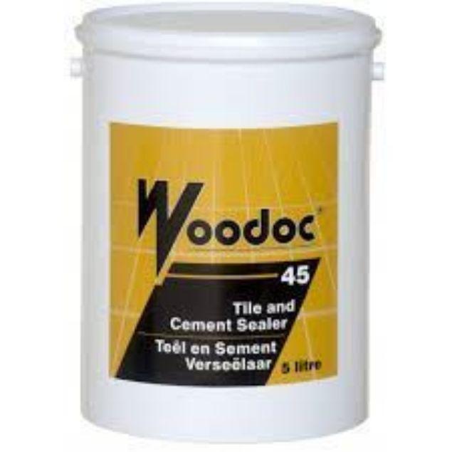 WOODOC 45 TILE & CEMENT SEALER 5L SOUTH AFRICA