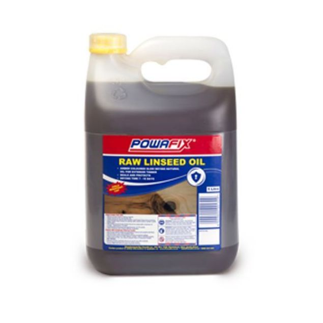 POWAFIX RAW LINSEED OIL 5LT SOUTH AFRICA