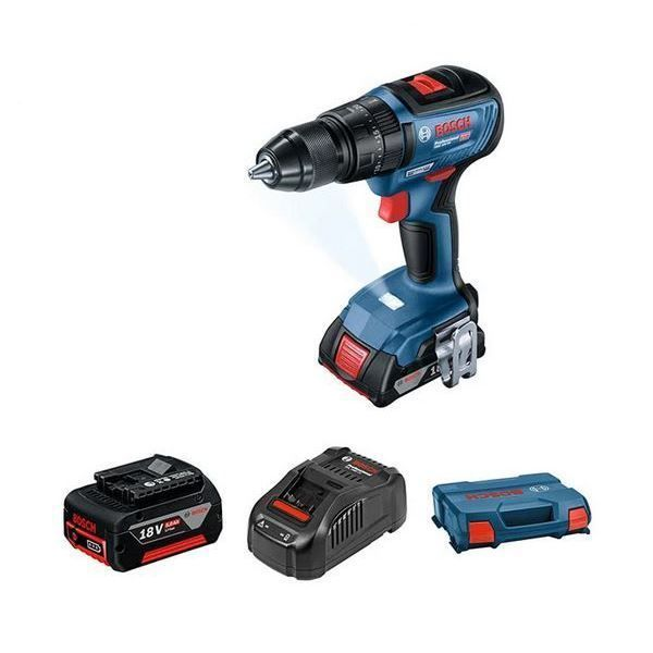 BOSCH CORDLESS DRILL GSB18-50 BRUSHLESS PLUS PROFESSIONAL SET south africa