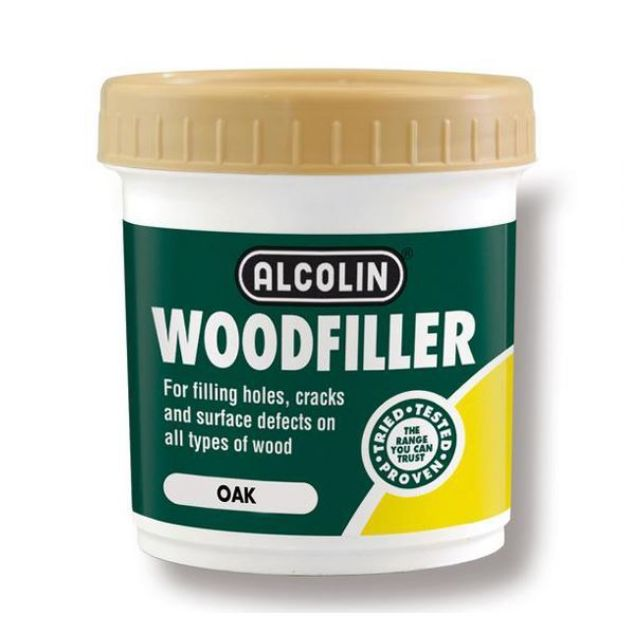 ALCOLIN WOODFILLER OAK 200G SOUTH AFRICA