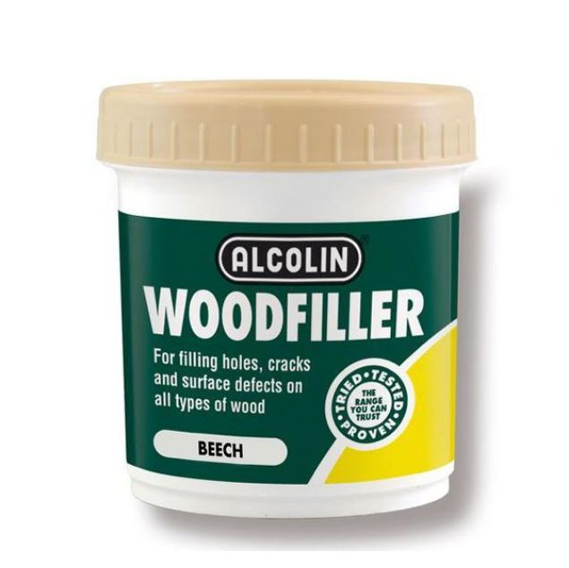 ALCOLIN WOODFILLER BEECH 200G SOUTH AFRICA