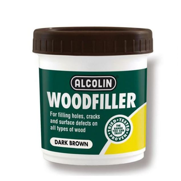 ALCOLIN 200G WOODFILLER DARK BROWN SOUTH AFRICA