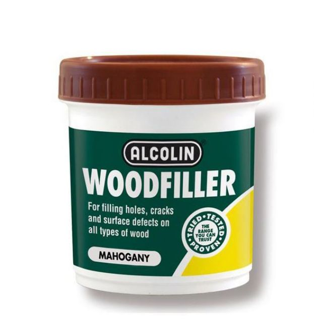 ALCOLIN  WOODFILLER MAHOGANY 200G