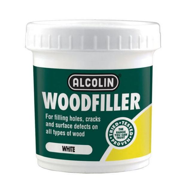 ALCOLIN WOODFILLER WHITE 200G SOUTH AFRICA