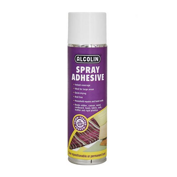 ALCOLIN 500ML ADHESIVE CONTACT SPRAY SOUTH AFRICA