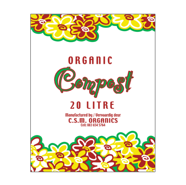 CSM ORGANIC COMPOST 20L south africa
