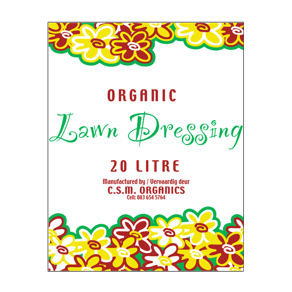 CSM ORGANIC LAWN DRESSING 20DM south africa