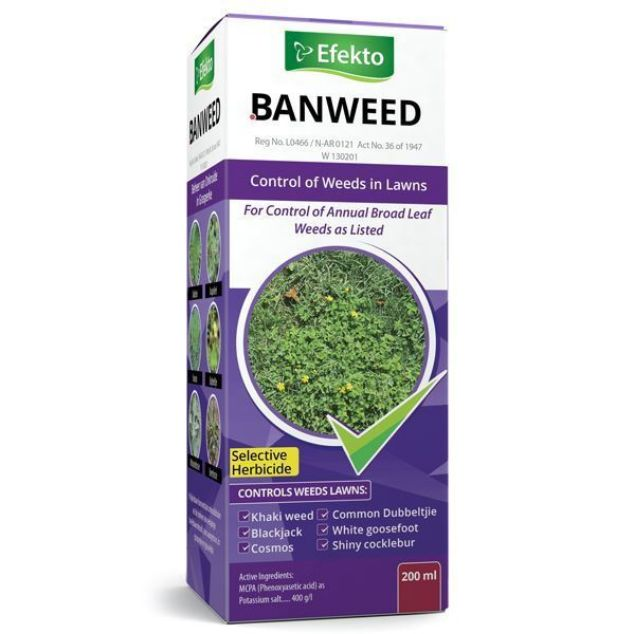 EFEKTO BANWEED MCPA 200ML SOUTH AFRICA