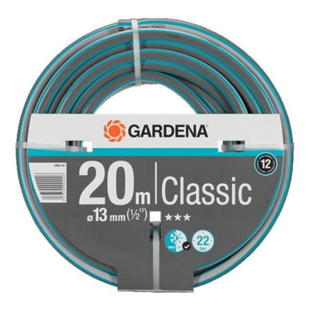 GARDENA HOSE CLASSIC - NO FITTINGS 13MM X 20M SOUTH AFRICA