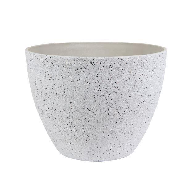 GOOD ROOTS Ceramic Nova Pot: Terrazzo White — Small South Africa