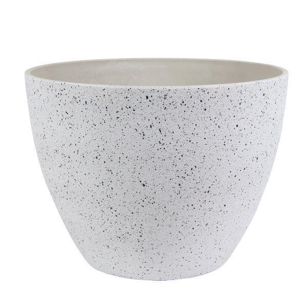 GOOD ROOTS Ceramic Nova Pot: Terrazzo White — Large South Africa