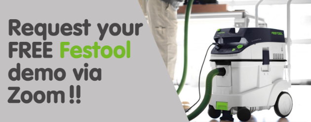 Picture for category Request your FREE Festool demo via Zoom!!