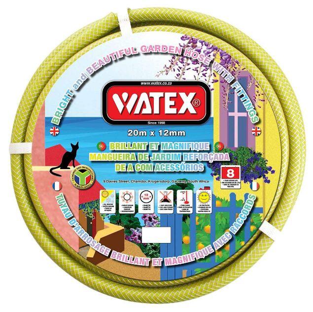 WATEX GARDEN HOSE + FITTINGS - GREEN - 8 Year SOUTH AFRICA