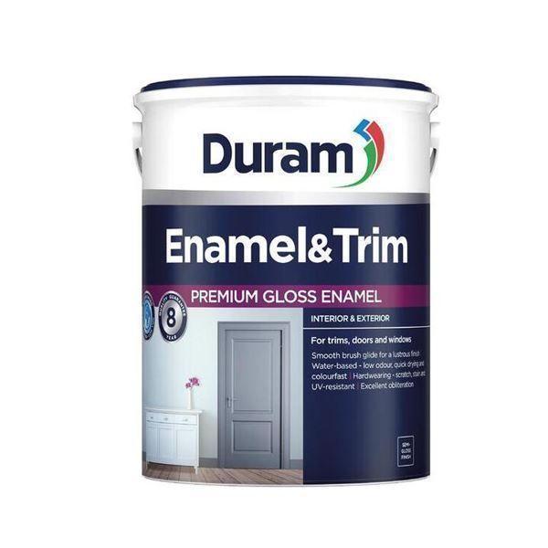 DURAM ENAMEL & TRIM 5LT - Battleship Grey SOUTH AFRICA