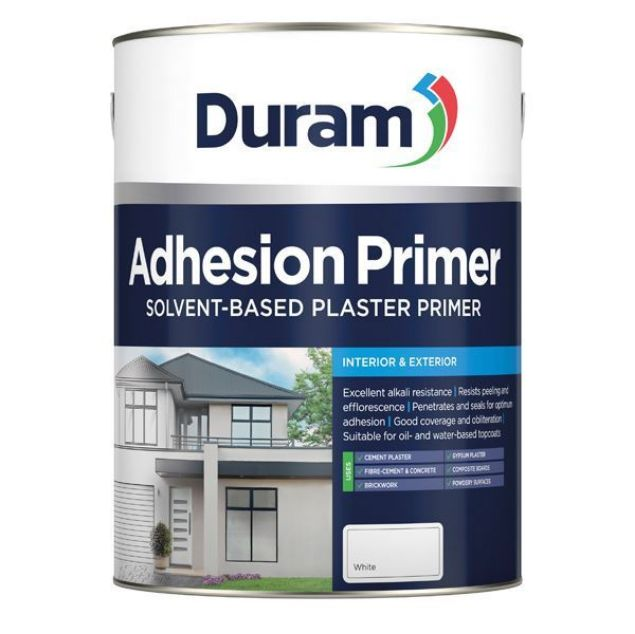 DURAM ADHESION PRIMER WHITE 5L SOUTH AFRICA