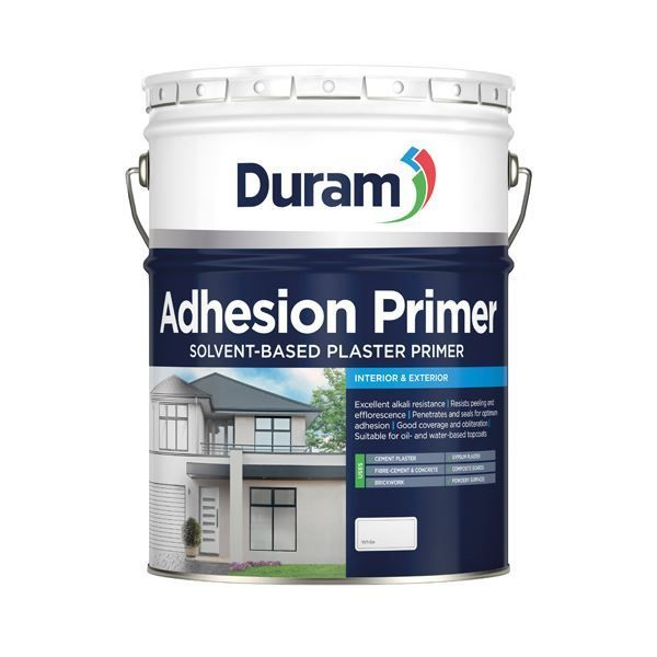 DURAM ADHESION PRIMER WHITE 20L SOUTH AFRICA