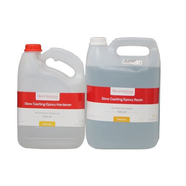 TOOLMATE 5L CLEAR SLOW CAST EPOXY RESIN  SOUTH AFIRCA