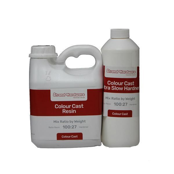 RESIN COLOUR CAST PACK 1.27KG - Non UV - TOOLMATE SOUTH AFRICA